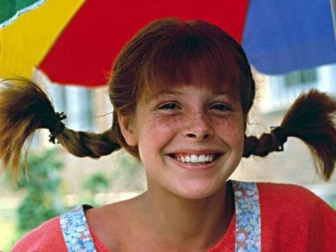 Tami Erin as Pippi Longstocking.
