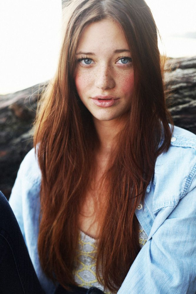 Wils♥n ℒ♥vℯs the way ☿❥u ℒ♥♡k ...  #Freckles Lindsay Hansen, freckles, pretty, beautiful