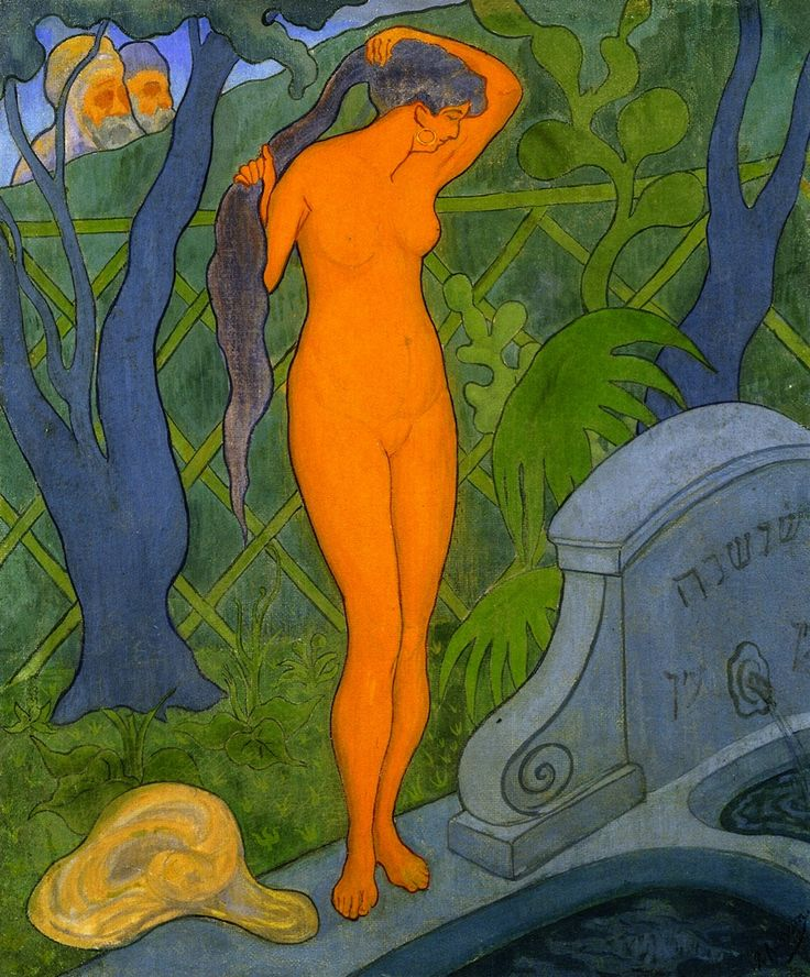 Paul Ranson (1864 - 1909) Susannah and the Elders - 1891