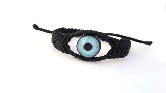Evil Eye Bracelet Macrame Bracelet Protection Eye by Macrani