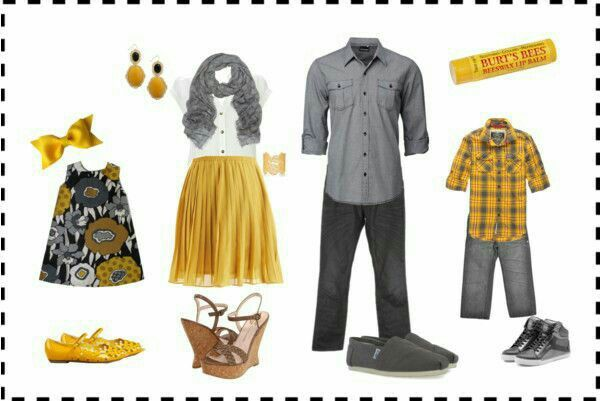 Mustard and Slate Grey