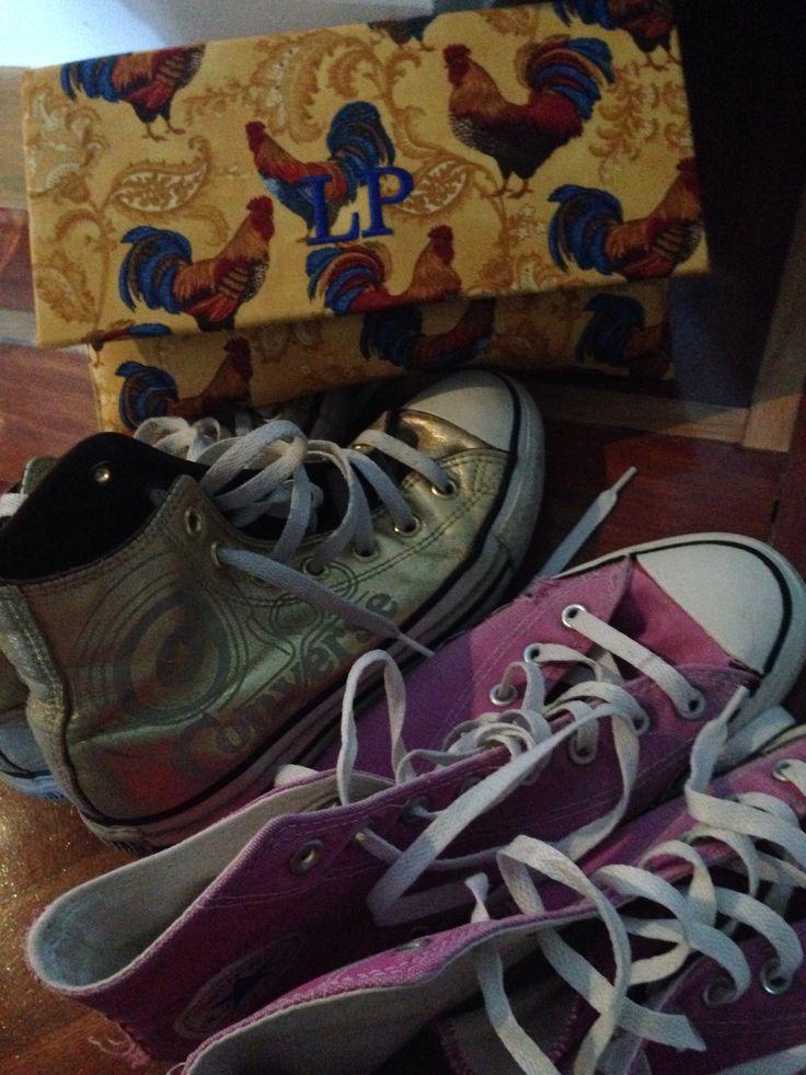 #clutch #claudine #converse