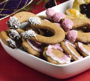 Hevosenkengät, Piparkakkutaikinasta, gingerbread