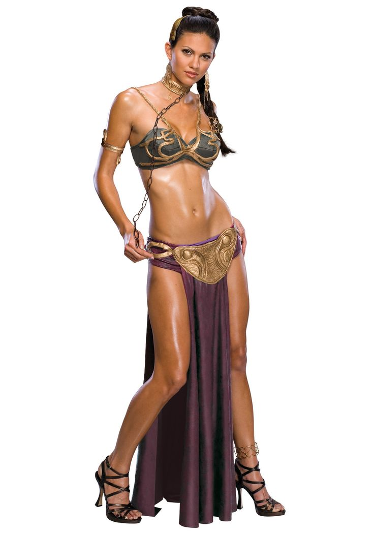 Princess Leia's slave costume when she was enslaved by Jabba the Hut! How cool.