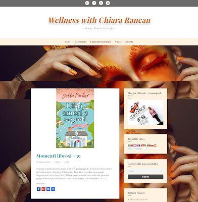 """Wellness WITH Chiara R.: Grande novità: Nasce il Sito di """"Wellness with Chi..."""