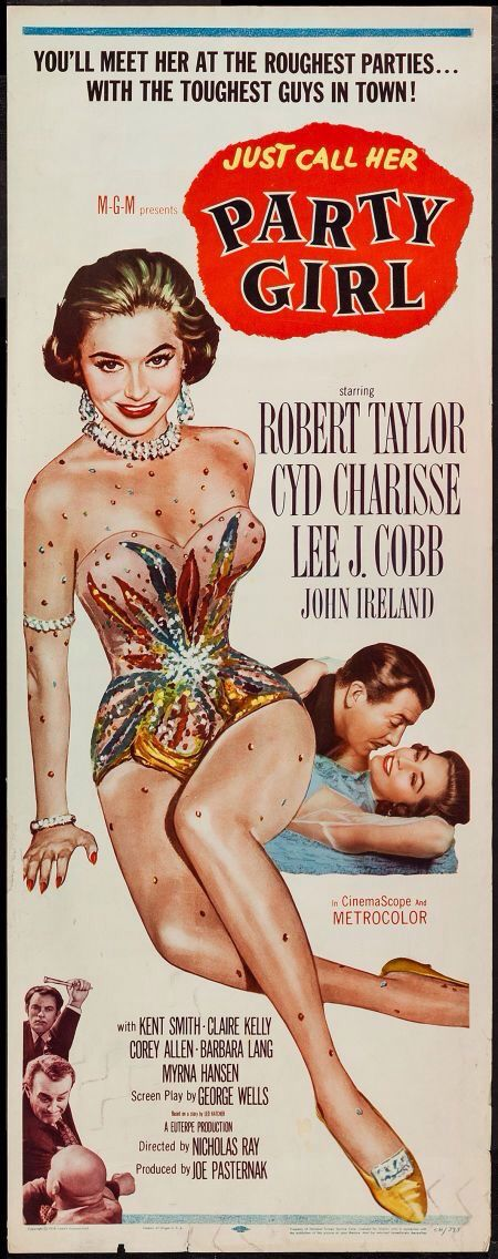 Poster from the film Party Girl