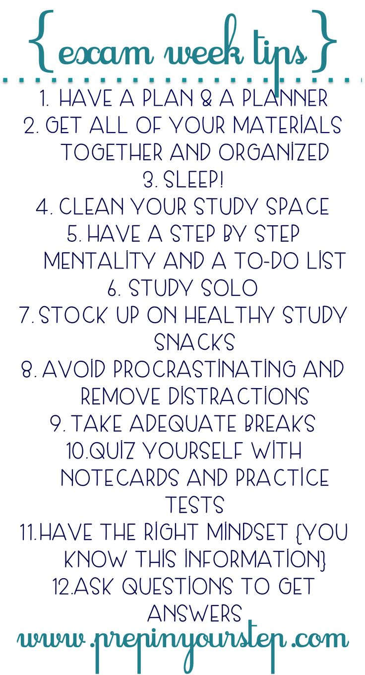 Use these tips during to help improve your grades on those up coming final exams.