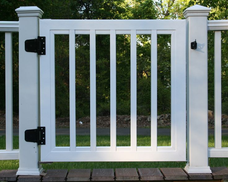 Gallery Trex Custom Deck Gates Located In Rockland