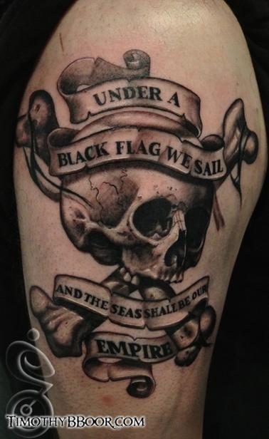 Tattoos - Timothy B Boor - YO HO HO!
