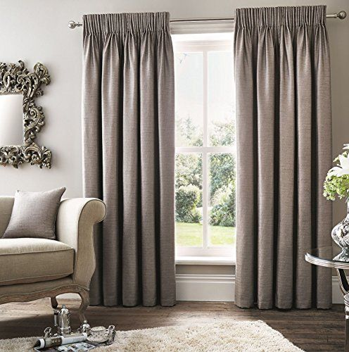 Robin Fully Lined Curtains 90 X 108 Modern Distressed Light Ash Silver Grey Pencil