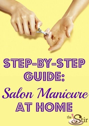how to give a good manicure