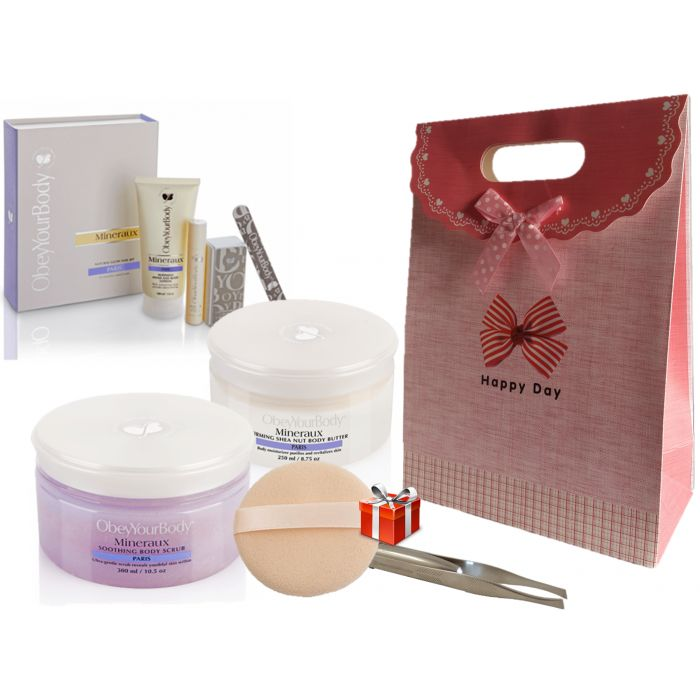 OBEY YOUR BODY - WOMAN'S DAY - GIFT SET