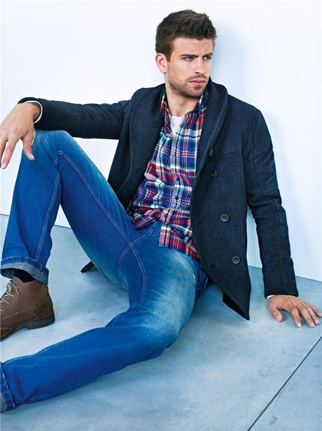 Gerard Pique for HE by Mango.