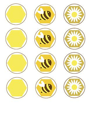 Free Printables! Honeybee tags, labels, banner, invites, thank-yous....