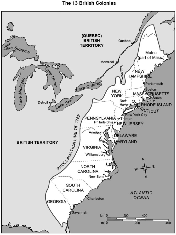 13 Colonies Map - Google Search