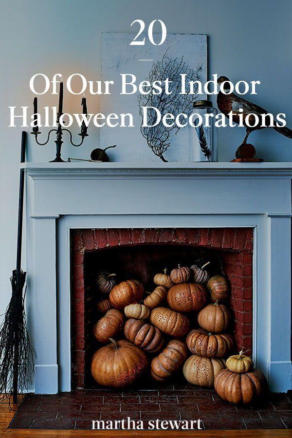 Martha Stewart Halloween Decor 2020 21 of Our Best Indoor Halloween Decorations in 2020 | Halloween