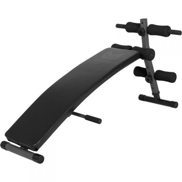 Vatsalihaspenkki (E-sarja), 34,95 €. Säädettävällä kallistuskulmalla pystyt säätelemään harjoituksen tehokkuutta. Mukava pehmuste nahkapäällysteellä tuo treeniisi lisää mukavuutta. Liukumattomat jalat takaavat, ettei vatsalihaspenkki liiku treenisi aikana. #vatsalihaspenkki
