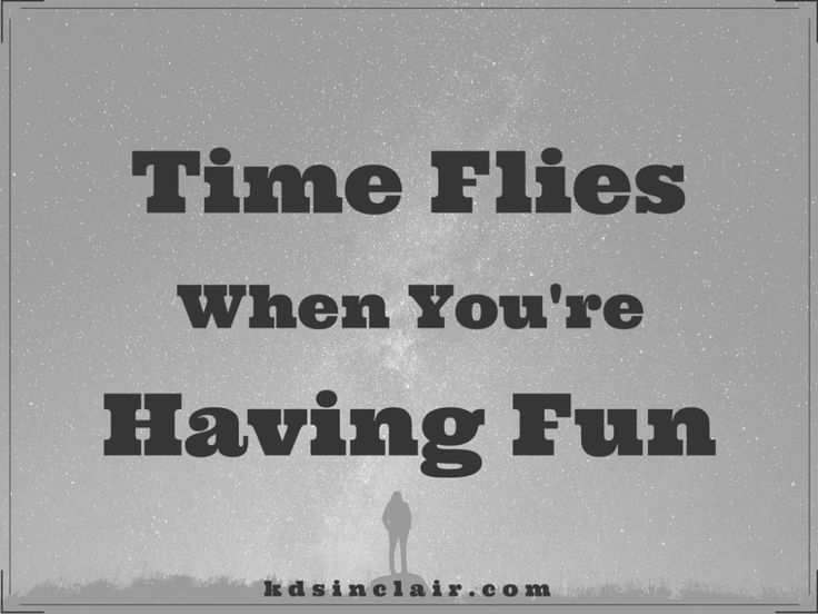 Time Flies When You're Having Fun, June edition