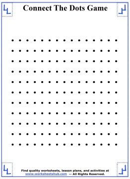 Big Connect The Dots Game Board