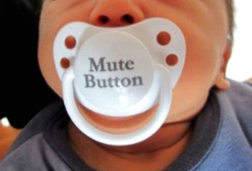 hahaMuted Buttons, Baby Shower Gift, Baby Needs, So True, Too Funny, Coping Skills, Kids, Funny Baby, So Funny