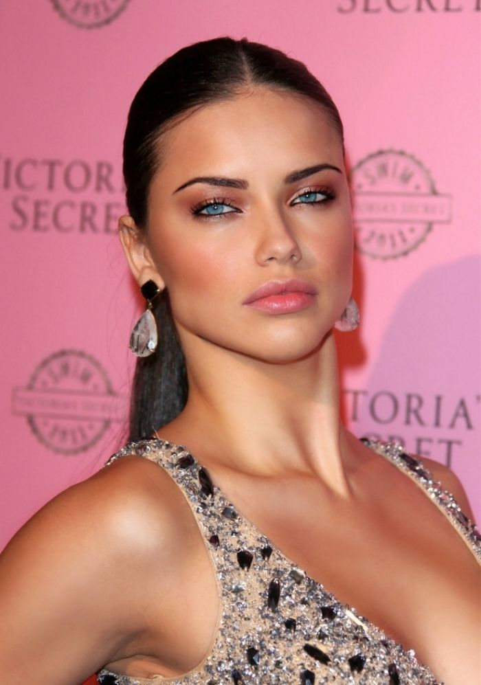 Rose Makeup Brushes: 25+ Best Ideas About Adriana Lima Face On Pinterest