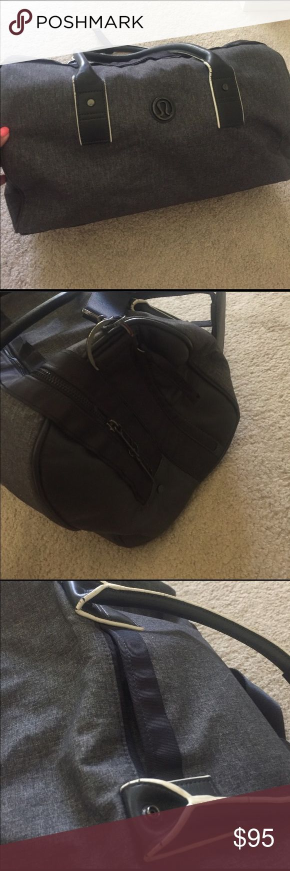 Mint condition lululemon duffel bag! Perfect gym  and everyday bag and great for weekend trips🙌🏽 make me an offer! lululemon athletica Bags Travel Bags