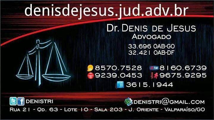 Assessoria e Consultoria Jurídica Wobeto Advocacia Dênis de JesusCivel…