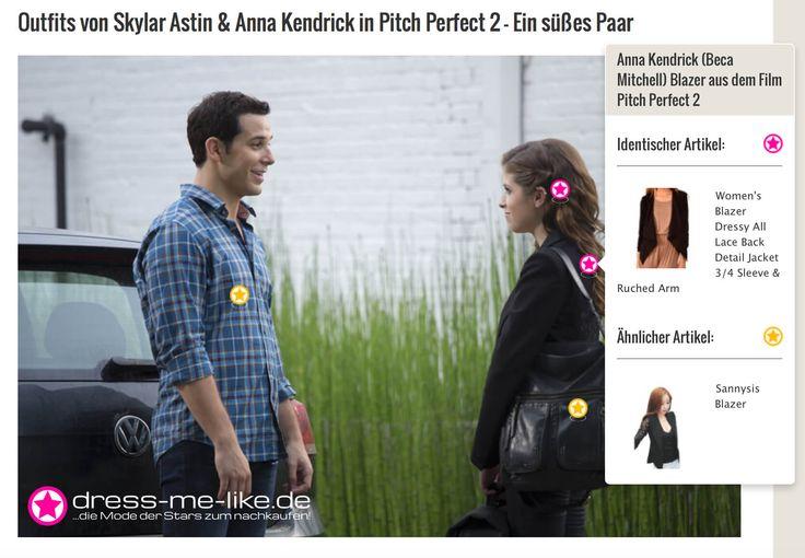 Anna Kendrick (Beca Mitchell) Blazer aus dem Film Pitch Perfect 2