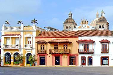La casa traditional en Colombia tiene mas colores