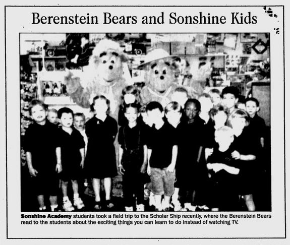 The Berenstein Bears The Free Lance-Star - May 14, 2003