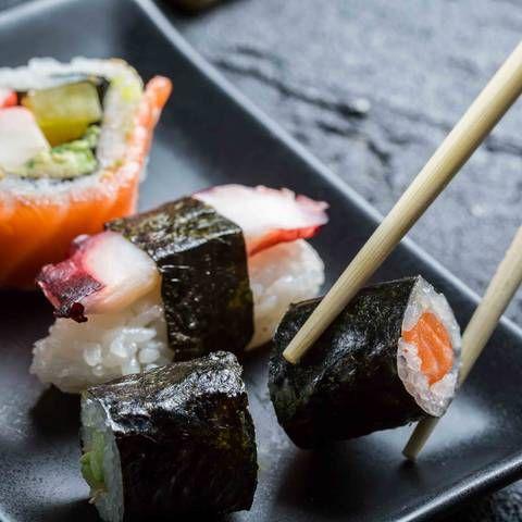 Sushi essen - aber wie?