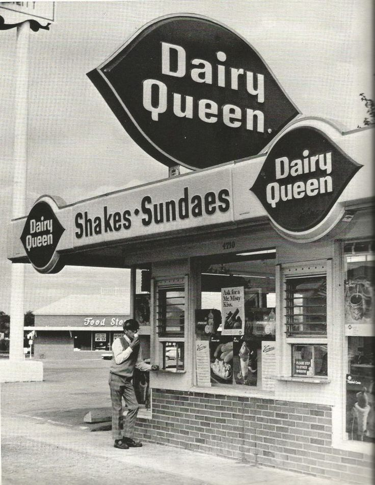 Dairy Queen on Dixie Highway in 1970