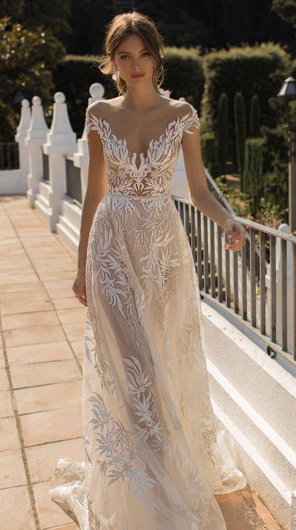 5cbaa1842dac MUSE By BERTA Wedding Dresses 2019 in 2019   Glamorous Wedding Ideas ...