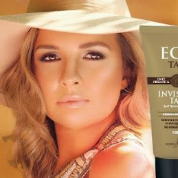 Google+ Eco Tan. 'Rich Honey' is a organic spray tan solution. Rich Honey is based on cacao (chocolate). Organic 'Invisible Tan' is an organic moisturiser that nourishes your skin without any synthetic or toxic ingredients. It goes on clear (to avoid staining any clothes or linen) and turns into a beautiful rich honey tan eight hours later. Invisible Tan is a organic self tan that only requires one application for a rich tan. Ph: 1300 596 118 Website: http://www.ecotan.com.au