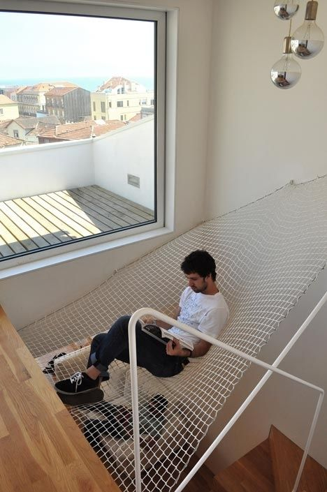 "A hammock you need in your man cave - Pinned by bocazo.com ""For All Real Estate Info"".. #mancave"