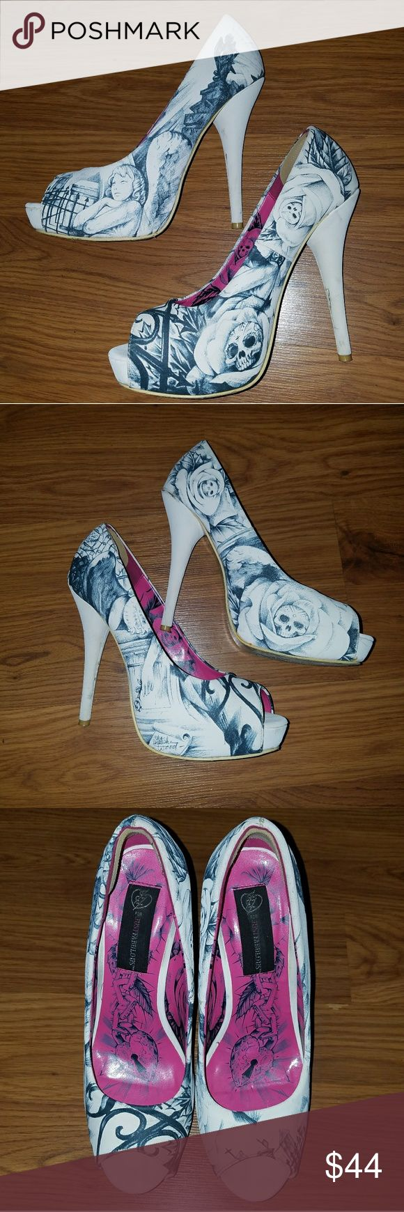 Iron Fist Heels Sold out limited edition Iron Fist Heels some wear great heels very unique. Iron Fist Shoes Heels