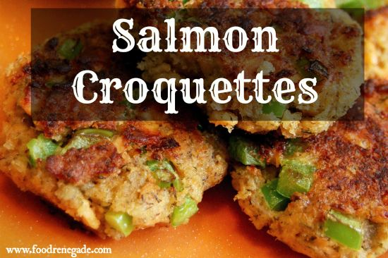 These are the best! And all my little ones just love them! Salmon Croquettes Recipe, via www.foodrenegade.com