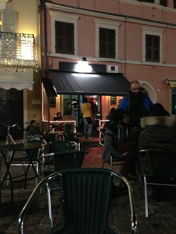 In piazza per un drink...