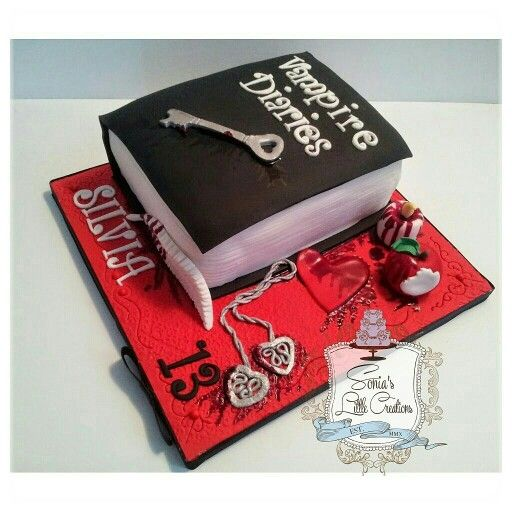 Vampire Diaries Cake Www Facebook Com
