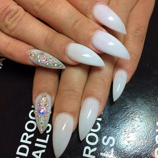 Stiletto manicure designs you must try this summer - 724 Best Nail Bling Images On Pinterest Coffin Nails, Make Up