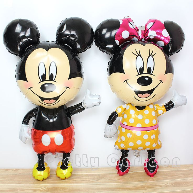 Large 45inch mickey balloons Minnie Mouse Airwalker Foil Balloon Mickey Mouse balloon minnie mouse&mickey mouse party supplies #>=#>=#>=#>=#> Click on the pin to check out discount price, color, size, shipping, etc. Save and like it!