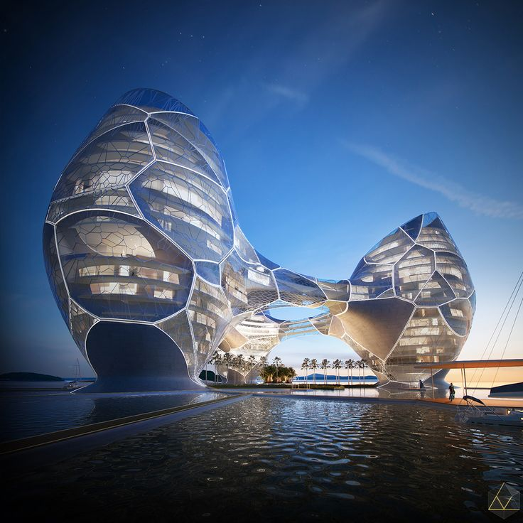 Ocean Nebula Hotel on Behance