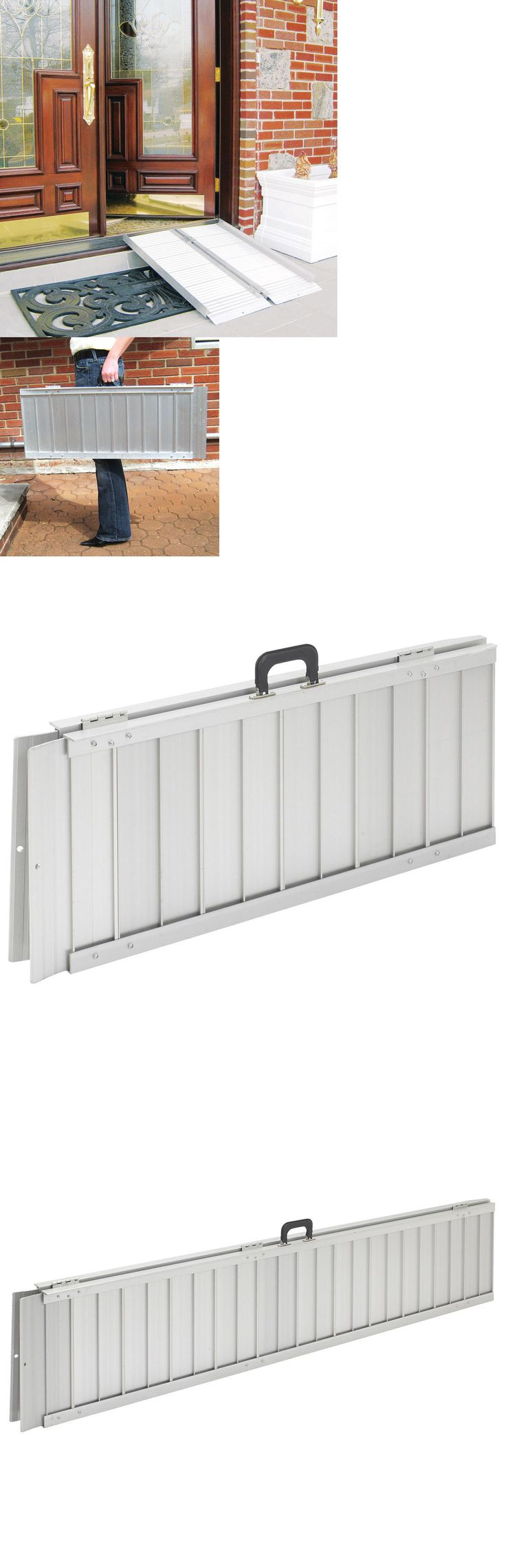 Access Ramps: Wheelchair Ramp Ramps Scooter Portable Folding Lightweight Threshold Door Entry -> BUY IT NOW ONLY: $182.02 on eBay!