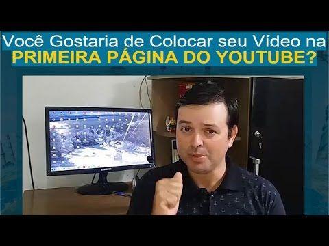 Ganhar Dinheiro Online: Como colocar seu vídeo na primeira pagina do Youtu...