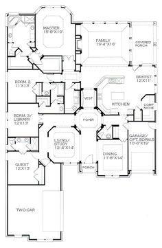 4car Garage House Plans