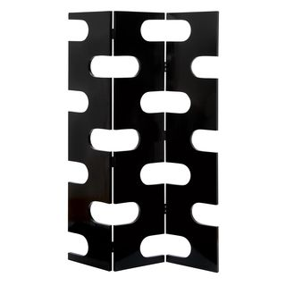 Room Dividing Wood 3-Panel Screen | Overstock.com, 72 inches high x 40 inches wide x 1 inch deep