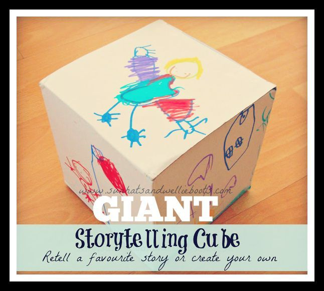 Giant Story Cubes - Explore favourite tales or create your own :: storytelling activity