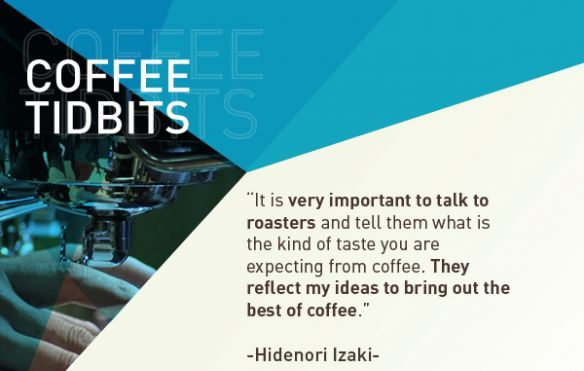 Tidbits with Barista Champion Hidenori Izaki | Colombian Coffee Hub