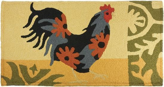 """ROOSTER Memory Foam Anti Fatigue Chef Design Kitchen Floor Mat Rug 40"""" x 20""""  #Unbranded #Country"""