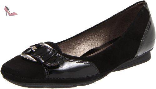 Geox Donna Stefany, Ballerines femme - Noir, 38 EU - Chaussures geox (*Partner-Link)